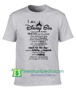 i am a disney girl t shirt