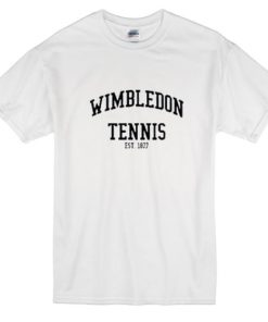 Wimbledon Tennis Est 1877 T Shirt