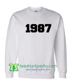 1987 sweatshirt Maker Cheap