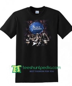 BLACK SABBATH vintage '99 TOUR rock concert metal band t-shirt Ozzy Osbourne T Shirt Maker Cheap