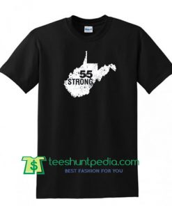 55 United, West Virginia 55 United, WV STRONG, 55 Strong Shirt Maker Cheap