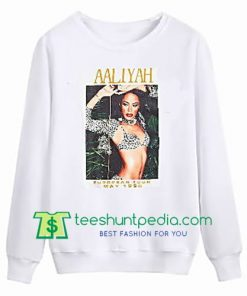 Aaliyah Tour 1995 Sweatshirt Maker Cheap