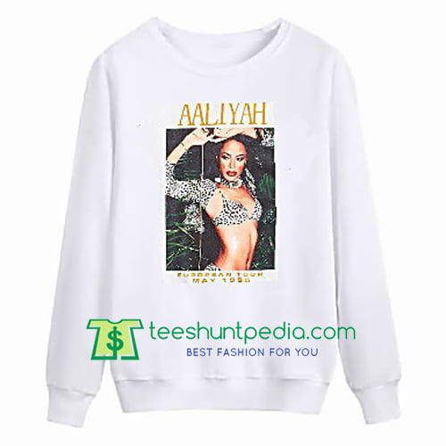 Aaliyah Tour 1995 Sweatshirt Maker Cheap