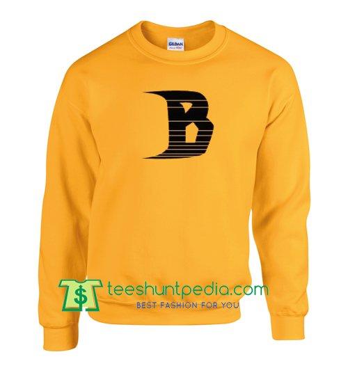 B Font Sweatshirt Maker Cheap