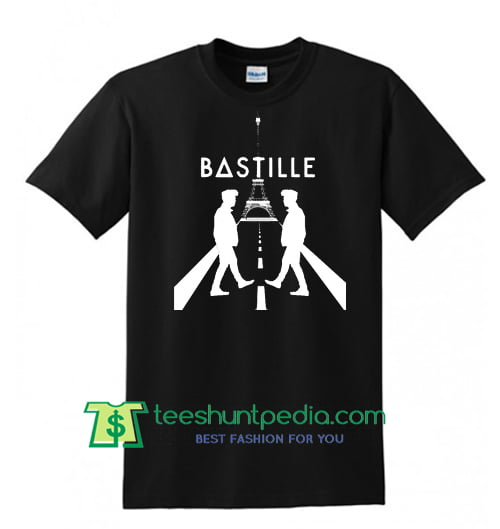 Bastille graphic design t shirt maker cheap from for Design tee shirts cheap