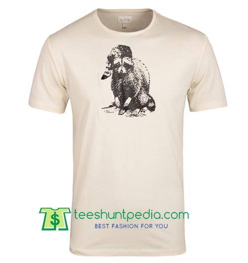 Bad Raccoon T Shirts Funny Shirts Woodland Animals T