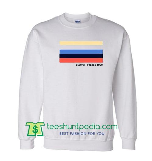 Biarritz France 1990 Sweatshirt Maker Cheap