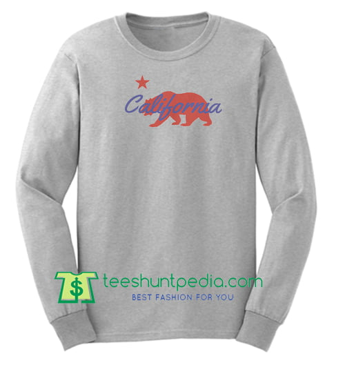California Bear Sweatshirt Maker Cheap