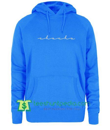 Chacha The Wave Logo Hoodie T Shirt Maker Cheap