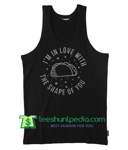 I'm In Love With the Shape Of You, Ed Sheeran Muscle Tee in Charcoal, Workout Top T Shirt Maker Cheap