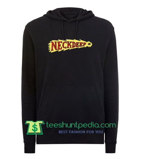 Neck Deep Flaming Eye Hoodie Maker Cheap