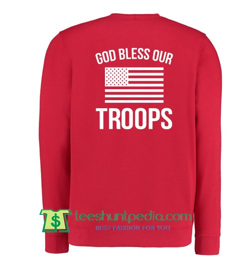 875fc6ddf ... red friday bless our troops sweatshirt maker from ...