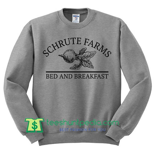 b45f03745 Schrute Farms Sweatshirt - Dunder Mifflin Shirt, The Office Sweater Maker  Cheap