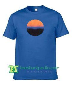 Sunrise Circle T Shirt Maker Cheap