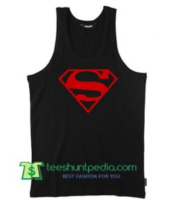 Superman Logo Tank Top Maker Cheap