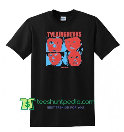 Talking heads Rock band David Byrne unisex T shirt Maker Cheap