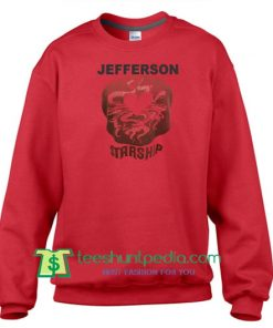 Vintage 1975 Jefferson Starship Red Octopus Shirt Sweatshirt Maker Cheap