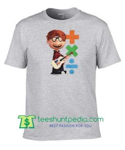 Youth Ed Sheeran Plus X Divide Short Sleeve T Shirt, Fan album art inspired logos T Shirts Maker Cheap