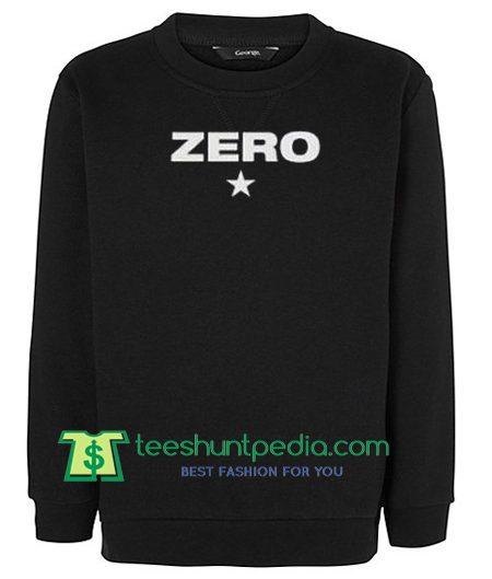 Zero Unisex Sweatshirts Maker Cheap