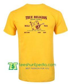 true religion t shirt back Maker Cheap