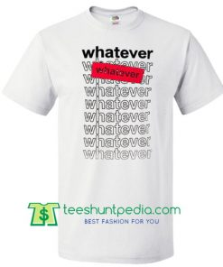 whatever whatever graphic t shirt Maker Cheap