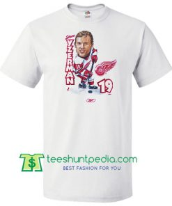 90's STEVE YZERMAN 19 SHIRT Maker Cheap