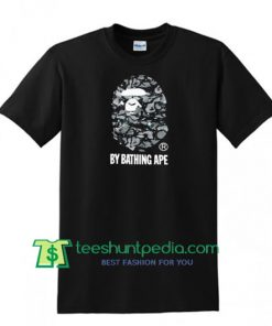 A Bathing Ape Fluorescent Logo T shirt Maker Cheap
