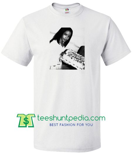 Aaliyah Birthday T Shirt Maker Cheap