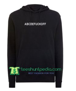 Abcdefuckoff hoodie Maker Cheap