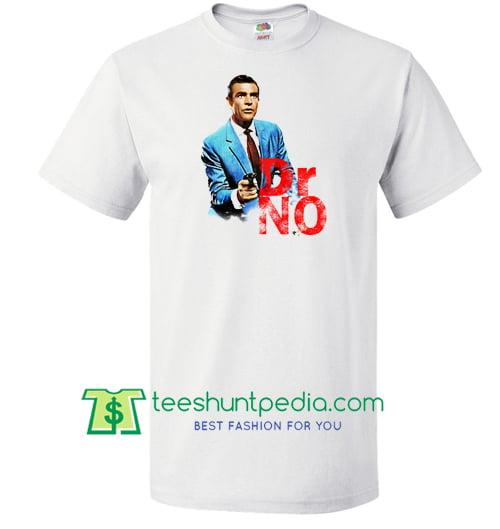 Dr No Vintage James Bond T Shirt Maker Cheap