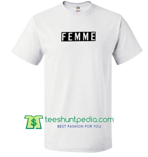 Femme Logo T Shirt Maker Cheap