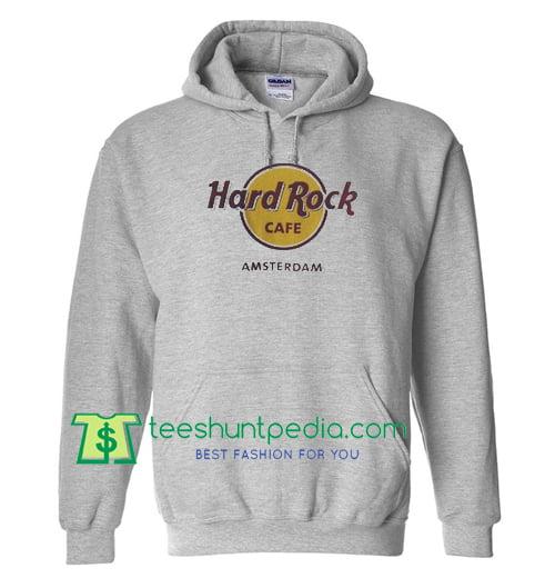 Hard Rock Amsterdam Hoodie Maker Cheap