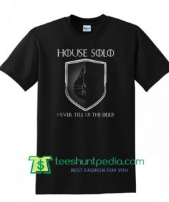 House Solo Logo T Shirt Maker Cheap