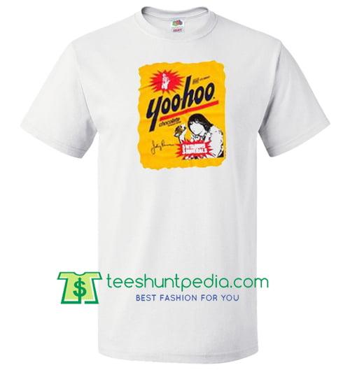 Johnny Ramone Yoohoo T shirt Maker Cheap