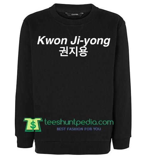 Kwon Ji-yong Crewneck Sweatshirt Maker Cheap