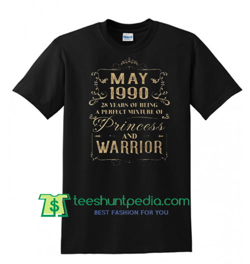 May 1990 Princess and Warrior T shirt Maker Cheap