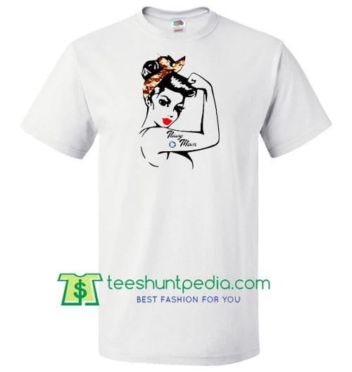 Navy Mom t shirt Maker Cheap