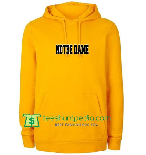 Notre Dame Hoodie Maker Cheap