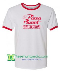 Pizza Planet High Quality Ringer Tee, Toy Story Shirt Maker Cheap