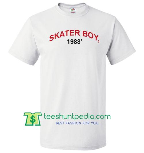 Skater Boy 1988 T Shirt Maker Cheap