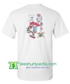 Stussy JJ VILLARD Skulls T shirt Maker Cheap
