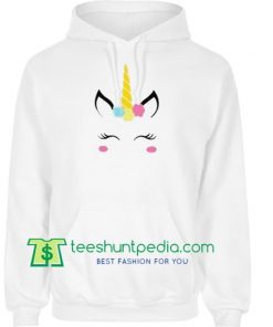Unicorn Face Hoodie Maker Cheap