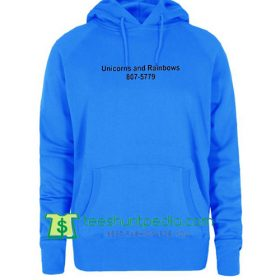 Unicorns and Rainbows 807-5779 Hoodie