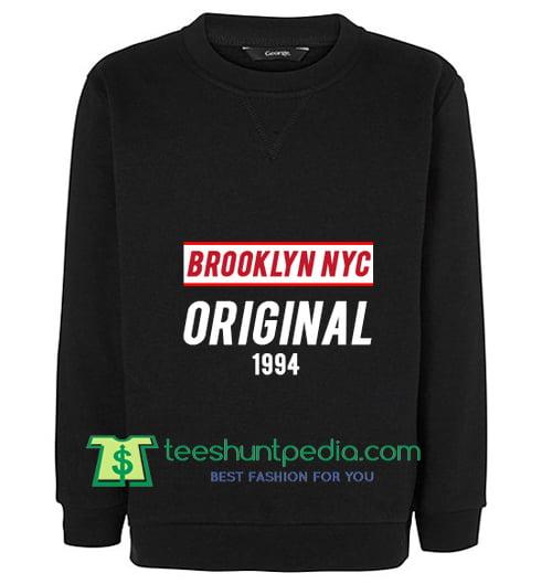 brooklyn nyc original sweatshirt Maker Cheap from teeshuntpedia.com 817aa8544cb