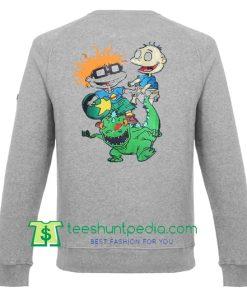 rugrats sweatshirt back Maker Cheap