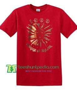 summer of the sun 1969 t shirt Maker Cheap