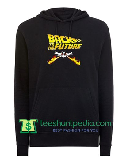 Back To The Future Vintage Unisex Hoodie Maker Cheap