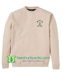 Baie De St Jean Saint Barth Sweatshirt Maker Cheap