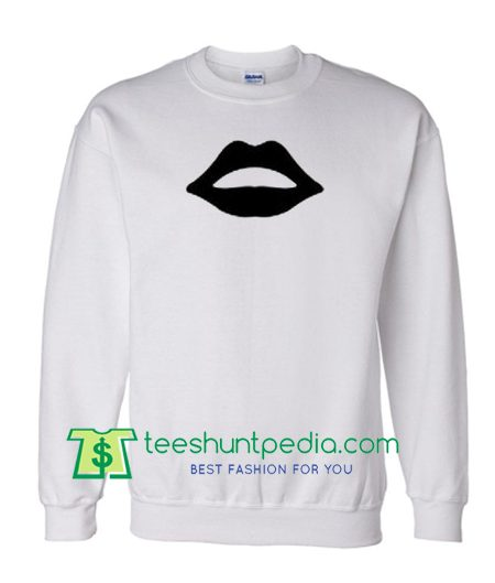 Black Lip Sweatshirt Maker Cheap
