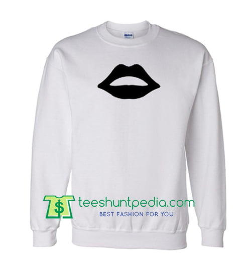 Black Lip Sweatshirt Maker Cheap